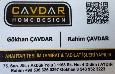 Didim Çavdar Home Design